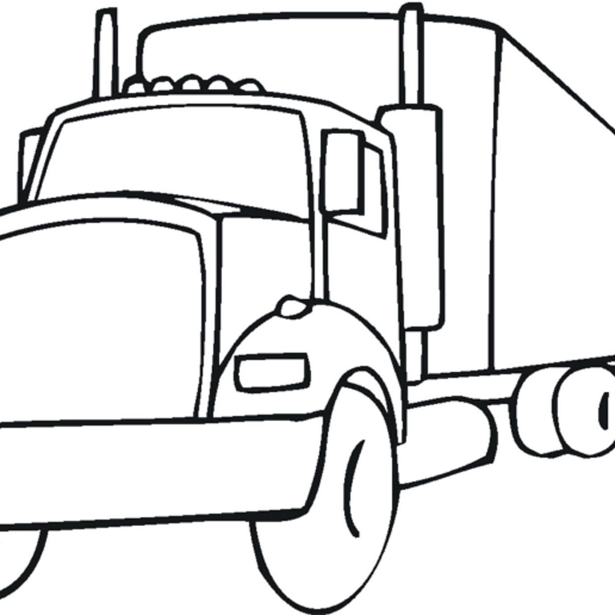 1224x1224 Luxury Fire Truck Coloring Pages With Additional Free Printable