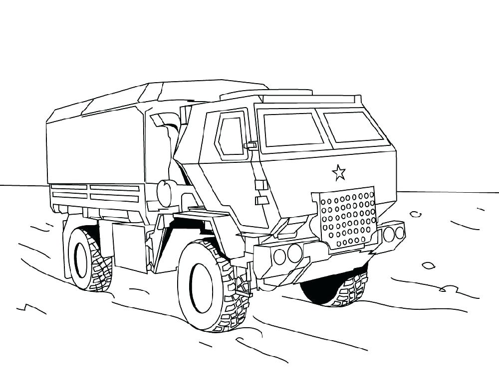 1000x773 Pictures Of Trucks To Color Fire Trucks Coloring Pages Also Fire
