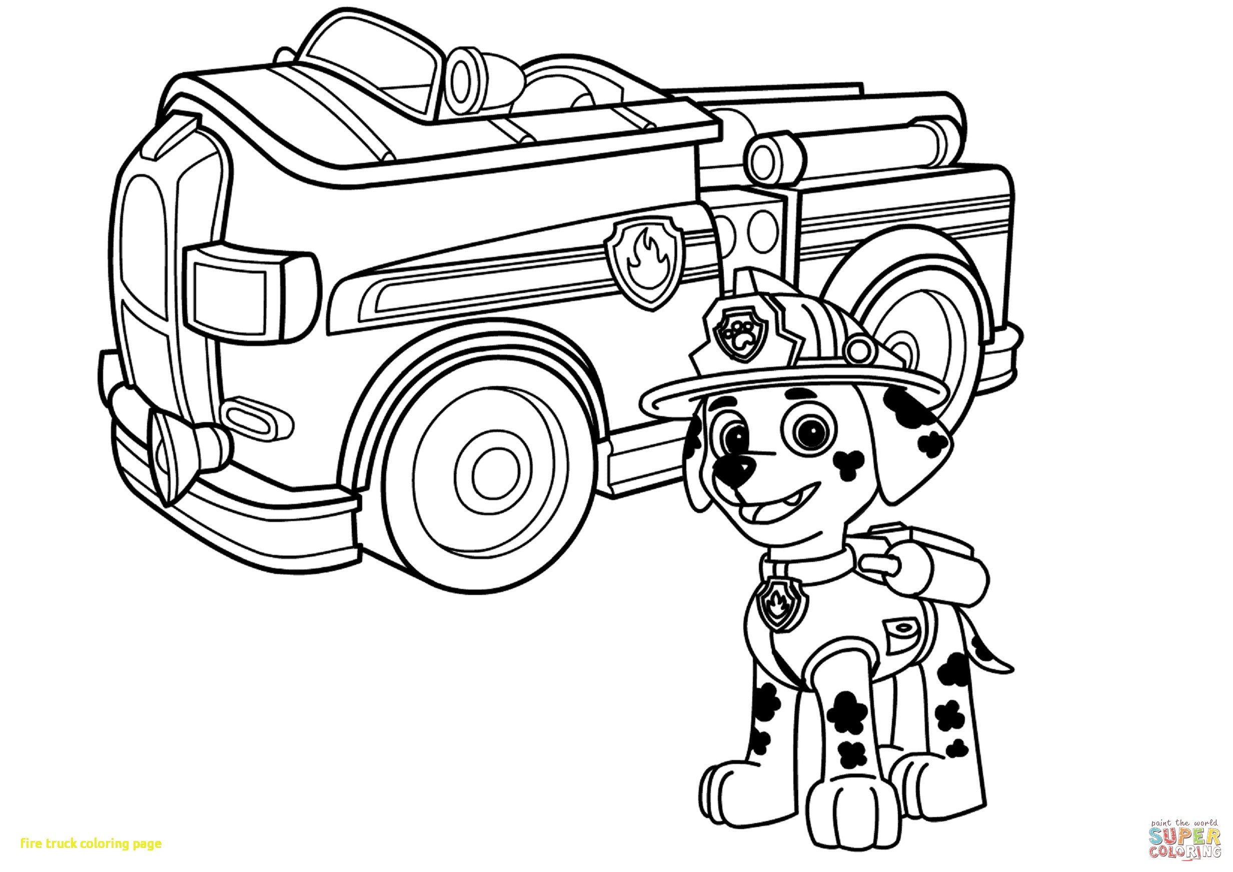 2465x1744 Fire Truck Coloring Page With Draw Fire Truck Coloring Page 91