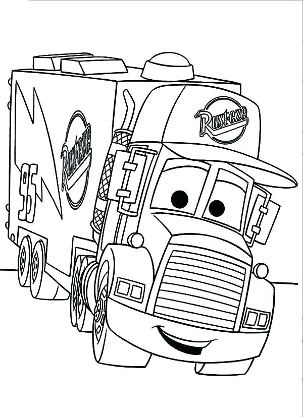 600x827 This Is Fire Truck Coloring Pages Images Free