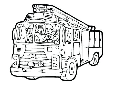 440x330 Free Printable Fire Truck Coloring Pages Codetracer.co