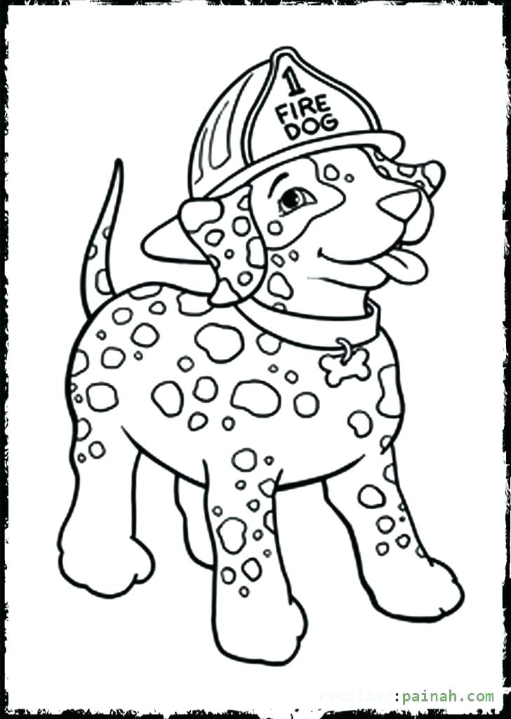 728x1024 Coloring Pages Fire Truck Book 7
