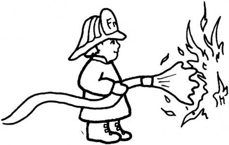 465x295 Fireman Puts Out The Fire Fireman Party Firemen