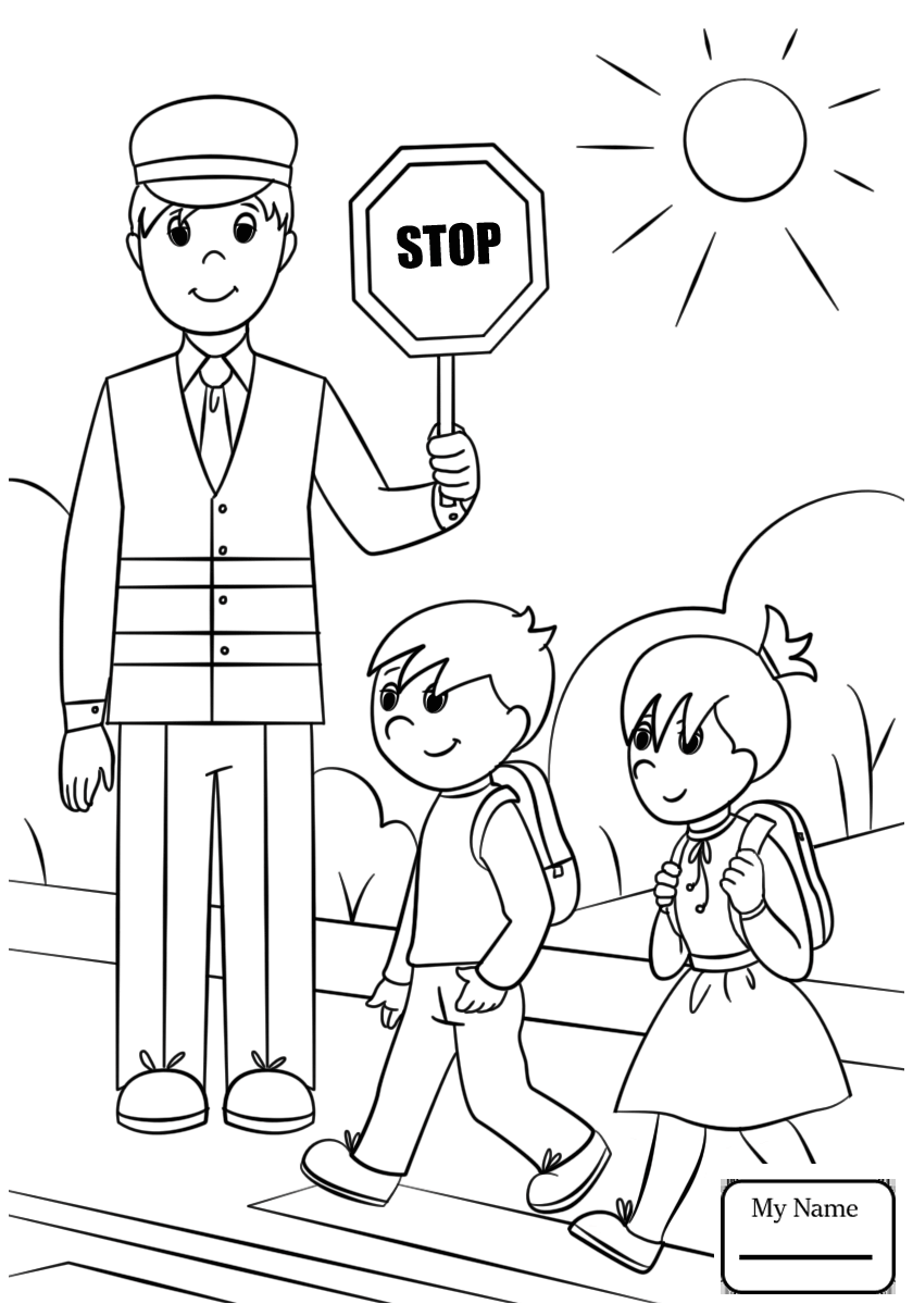 840x1210 Coloring Pages For Kids Professions Cartoon Firefighter Sprays