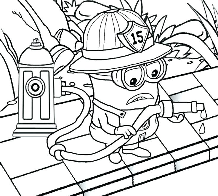 736x662 Firefighter Coloring Book Firefighter Coloring Book