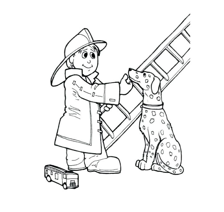 720x681 Firefighter Coloring Books Beach Coloring Pages Fireman Sam