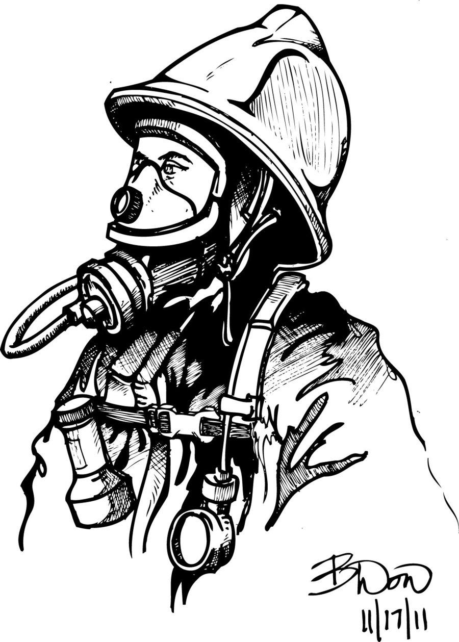 900x1259 Fireman 2 By Bdonnell76
