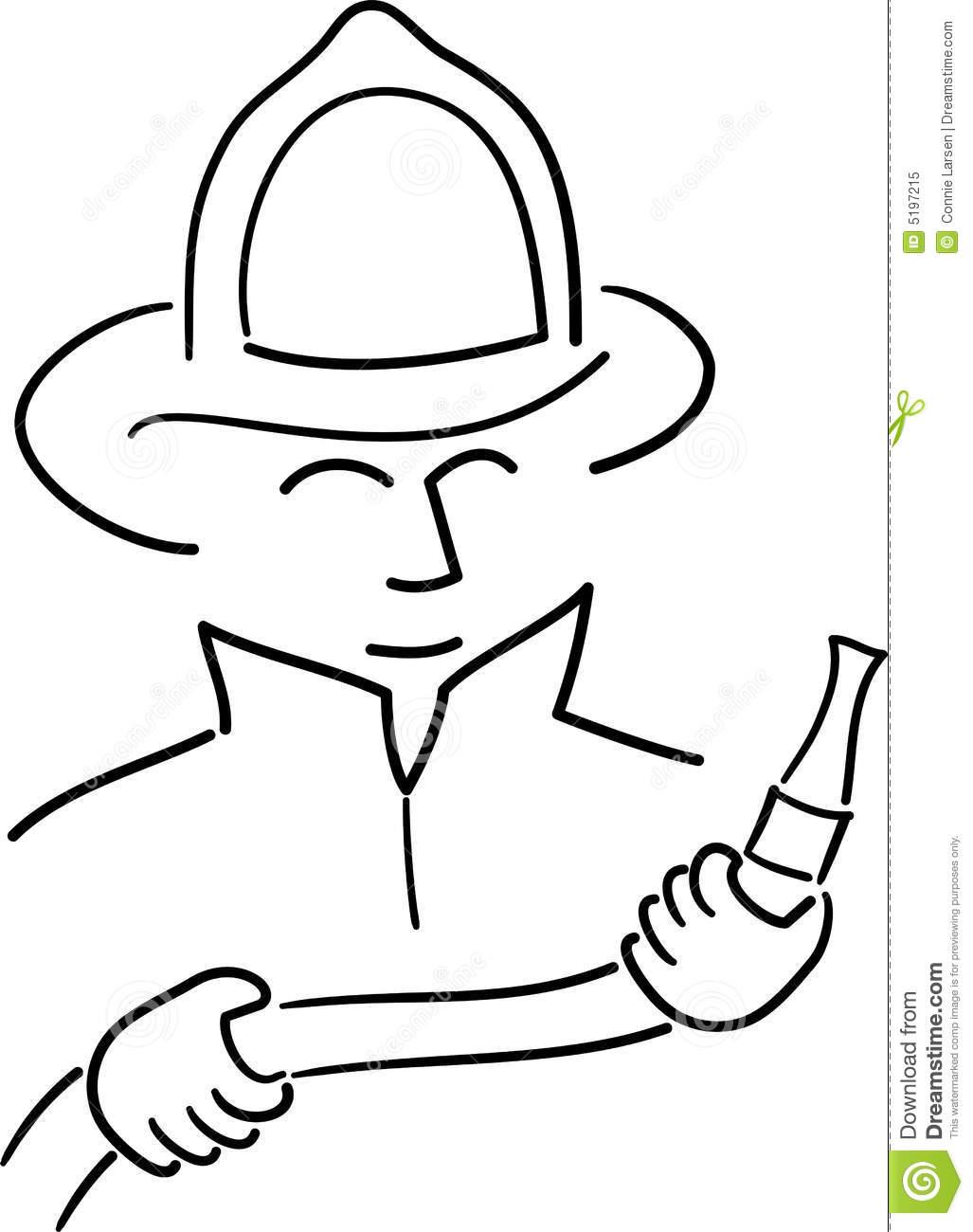 1027x1300 Drawn Hat Fireman