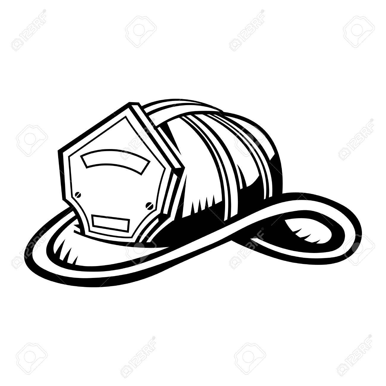 1300x1300 Firefighter Helmet Royalty Free Cliparts, Vectors, And Stock