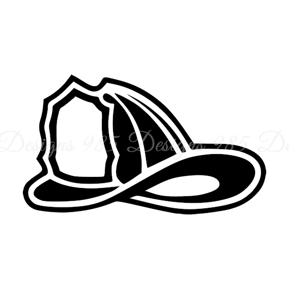 570x570 Fireman Hat Helmet Svg For Cricut And By 985 Graphic Designs On Zibbet