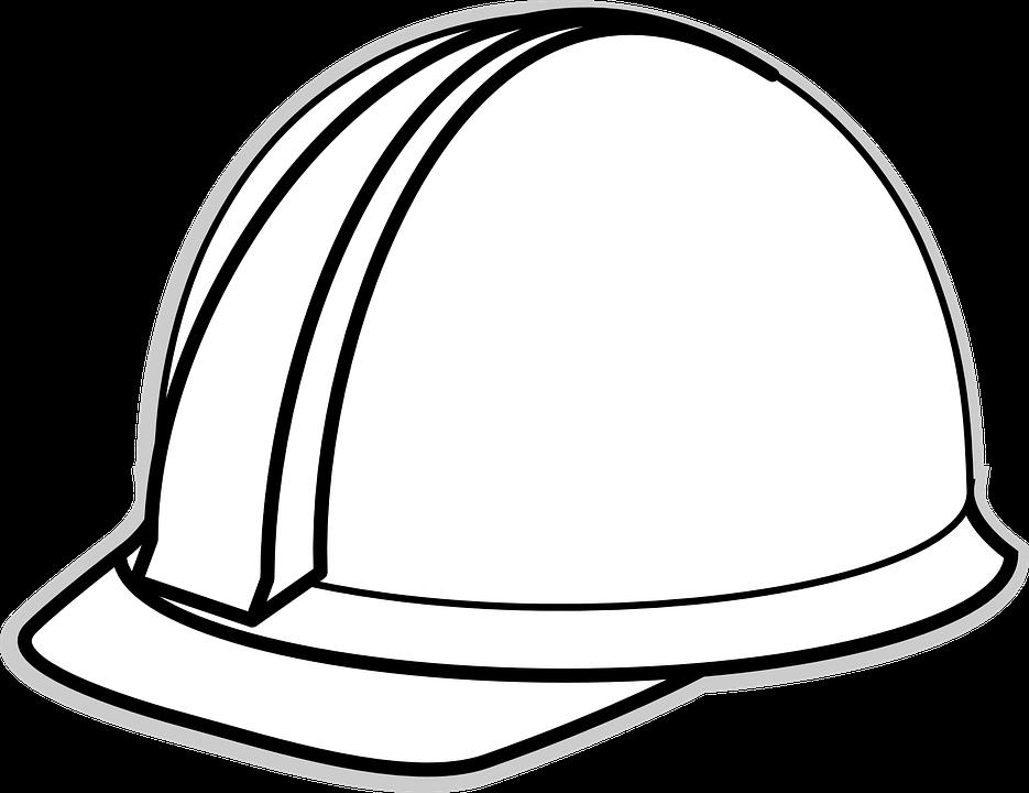 935x720 Helmet Clipart Construction Worker