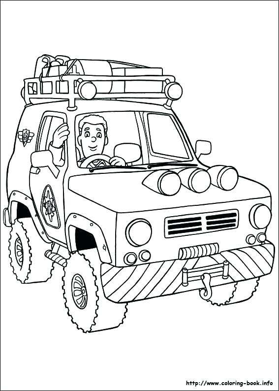 567x794 Fireman Coloring Book Together With Firefighter Coloring Page