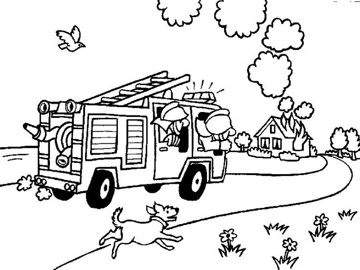 736x552 Coloring Firefighting Images Firefighters On Firefighter Get O