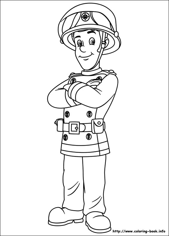 567x794 Fireman Sam Coloring Pages On Coloring