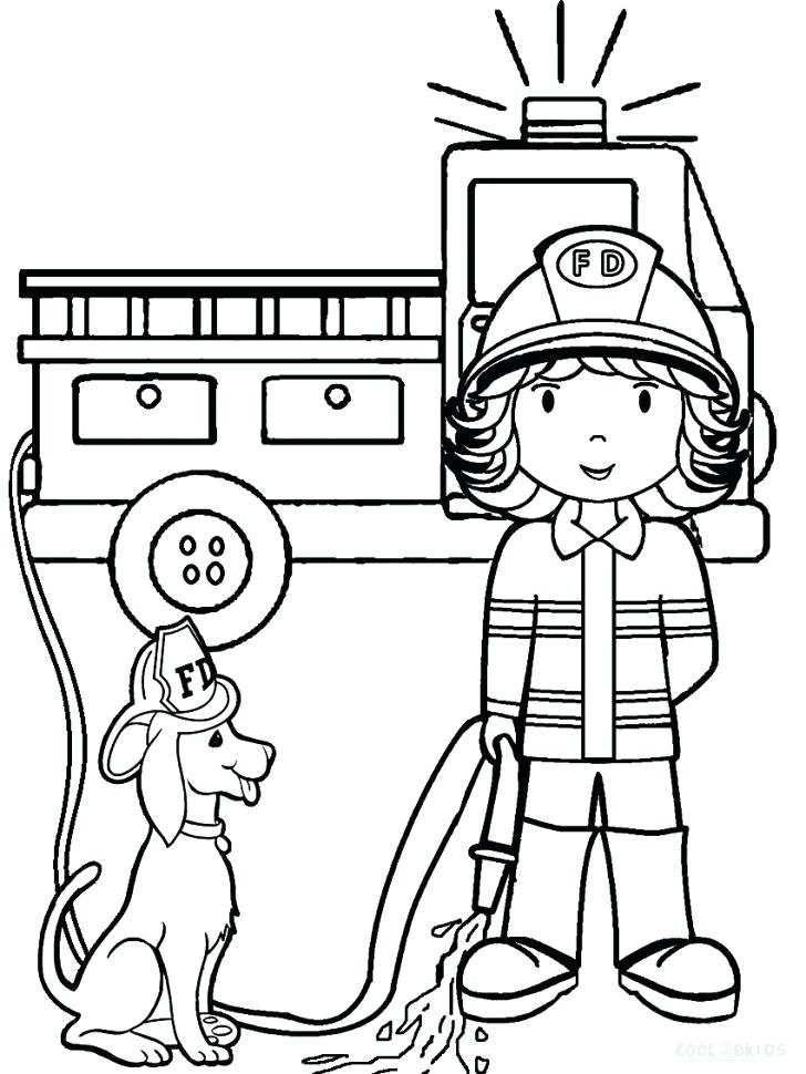 728x970 Fireman Coloring Pages Best Coloring Disney Book