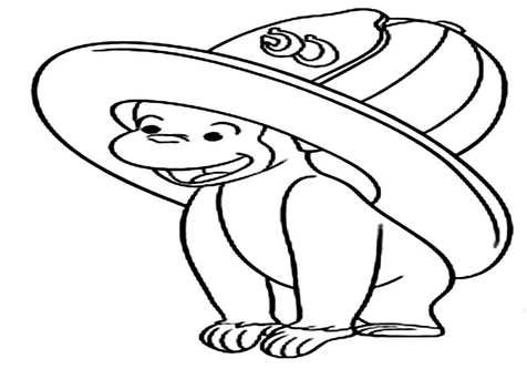 476x333 Hat Coloring Pages Page Image Clipart Images