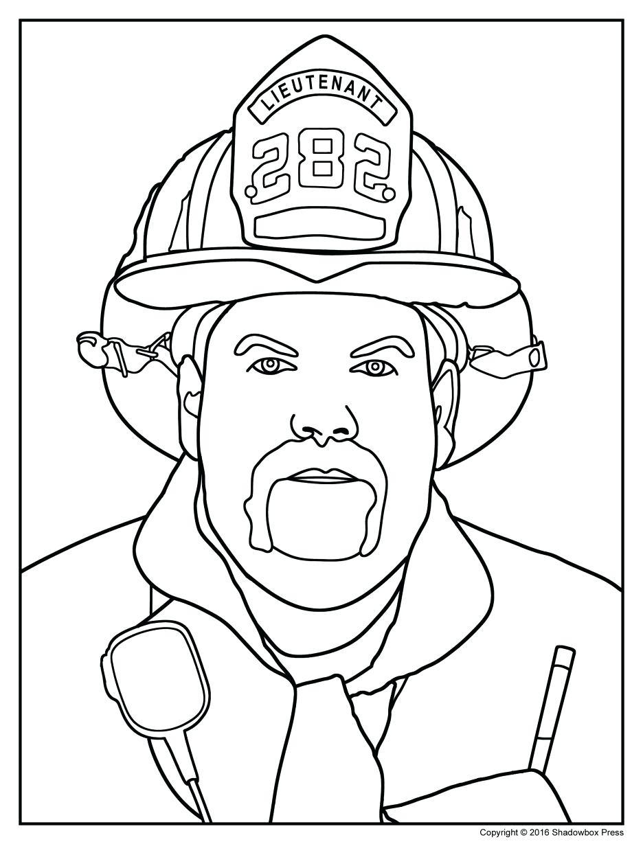 Fireman Hat Drawing at GetDrawings.com | Free for personal use ...