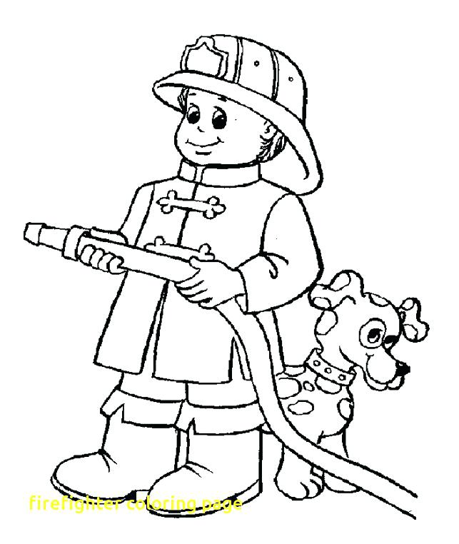 643x762 Fire Fighter Coloring Pages Firefighter Coloring Book Medium Size