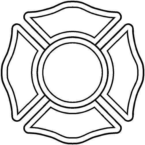 Fireman Helmet Drawing