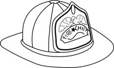 236x141 Fire Hat Coloring Fire Hat Coloring Sheet