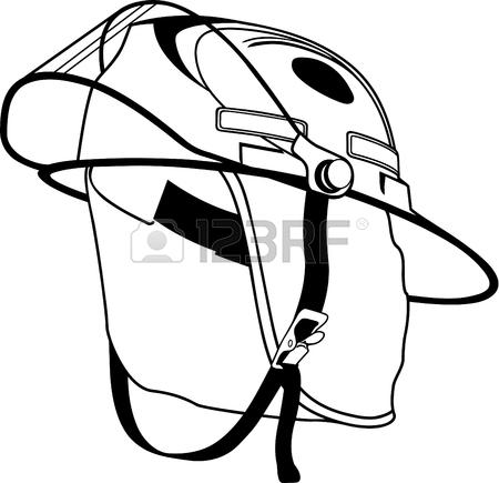 450x435 Fireman's Helmet Illustration. Royalty Free Cliparts, Vectors,