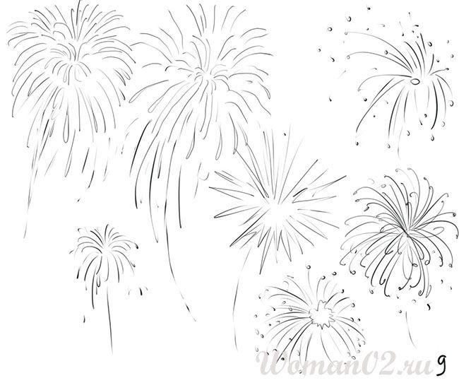 Firework Drawing