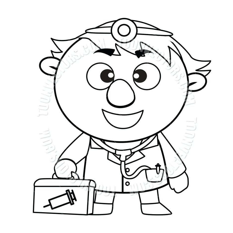 940x940 First Aid Coloring Pages Free For Kids Free Coloring Book Picture