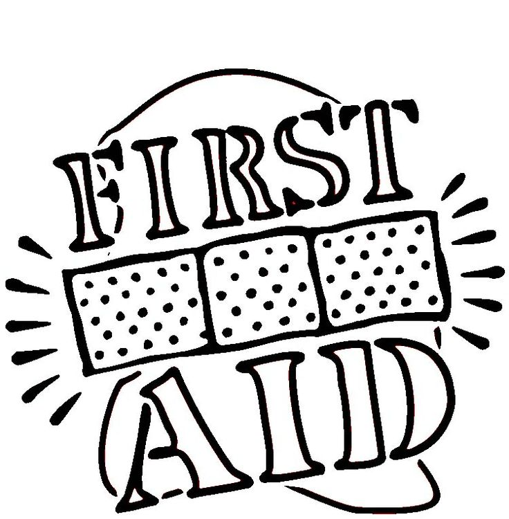 736x750 First Aid Safety Coloring Pages First Aid Coloring Sheets