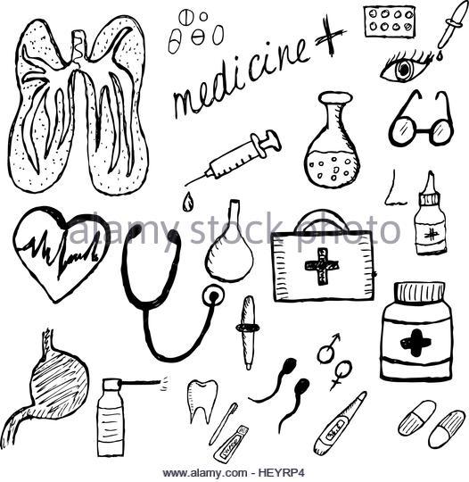 526x540 Vector Doodle First Aid Kit Stock Photos Amp Vector Doodle First Aid