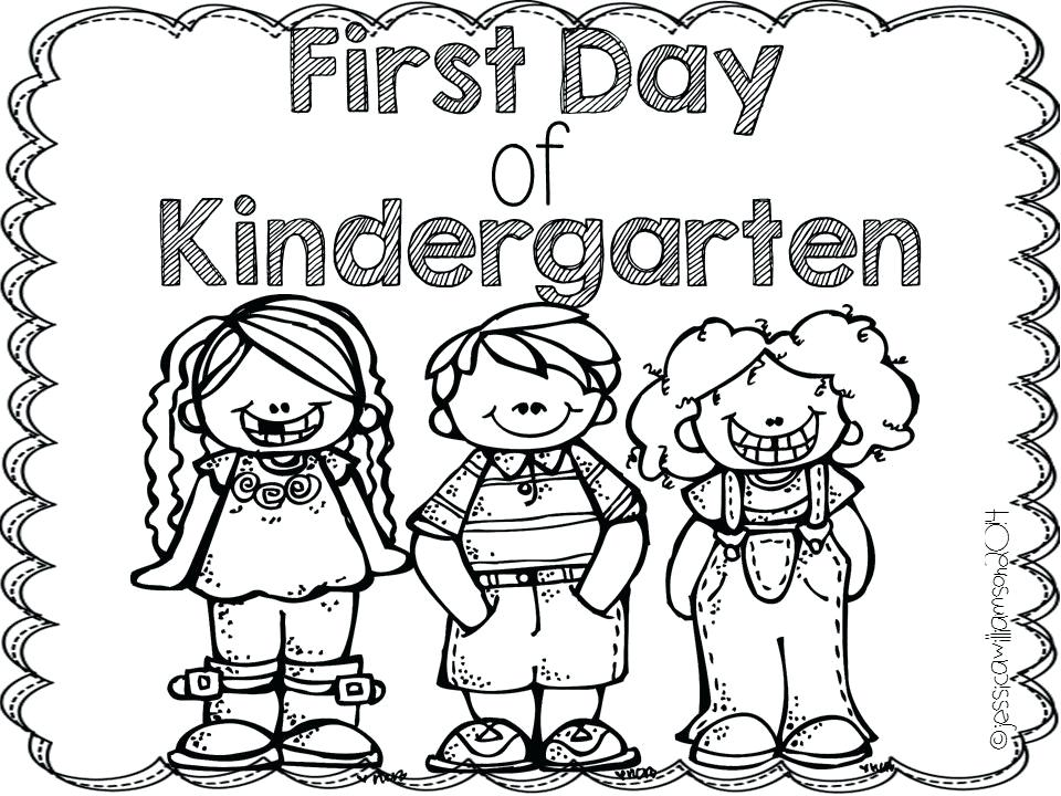 960x720 100 Ideas First Day Of Kindergarten Coloring Page On Www Colouring