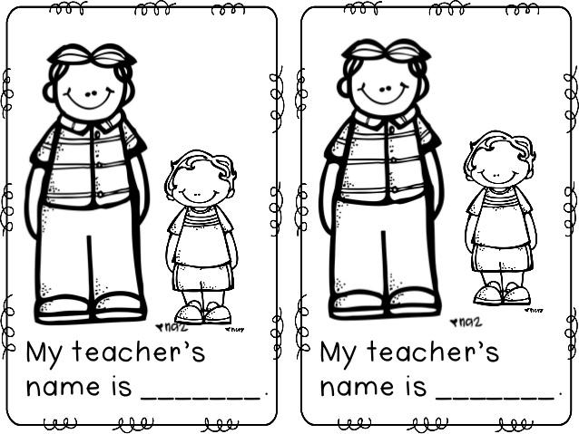 638x479 First Day Of School Mini Book Freebie (Hari Pertama Sekolah)
