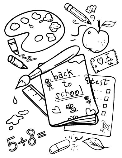 First Day Of School Drawing at GetDrawings.com | Free for personal ...