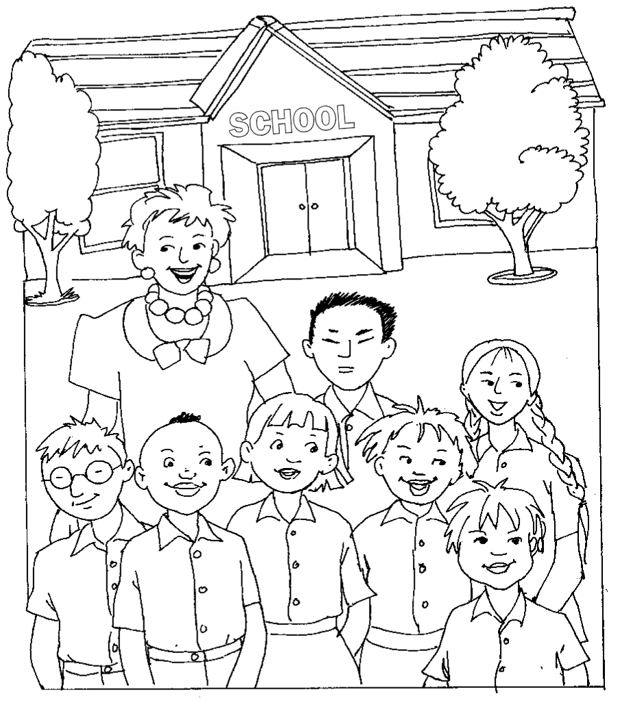 920x1023 Photos First Day Of School Drawing,