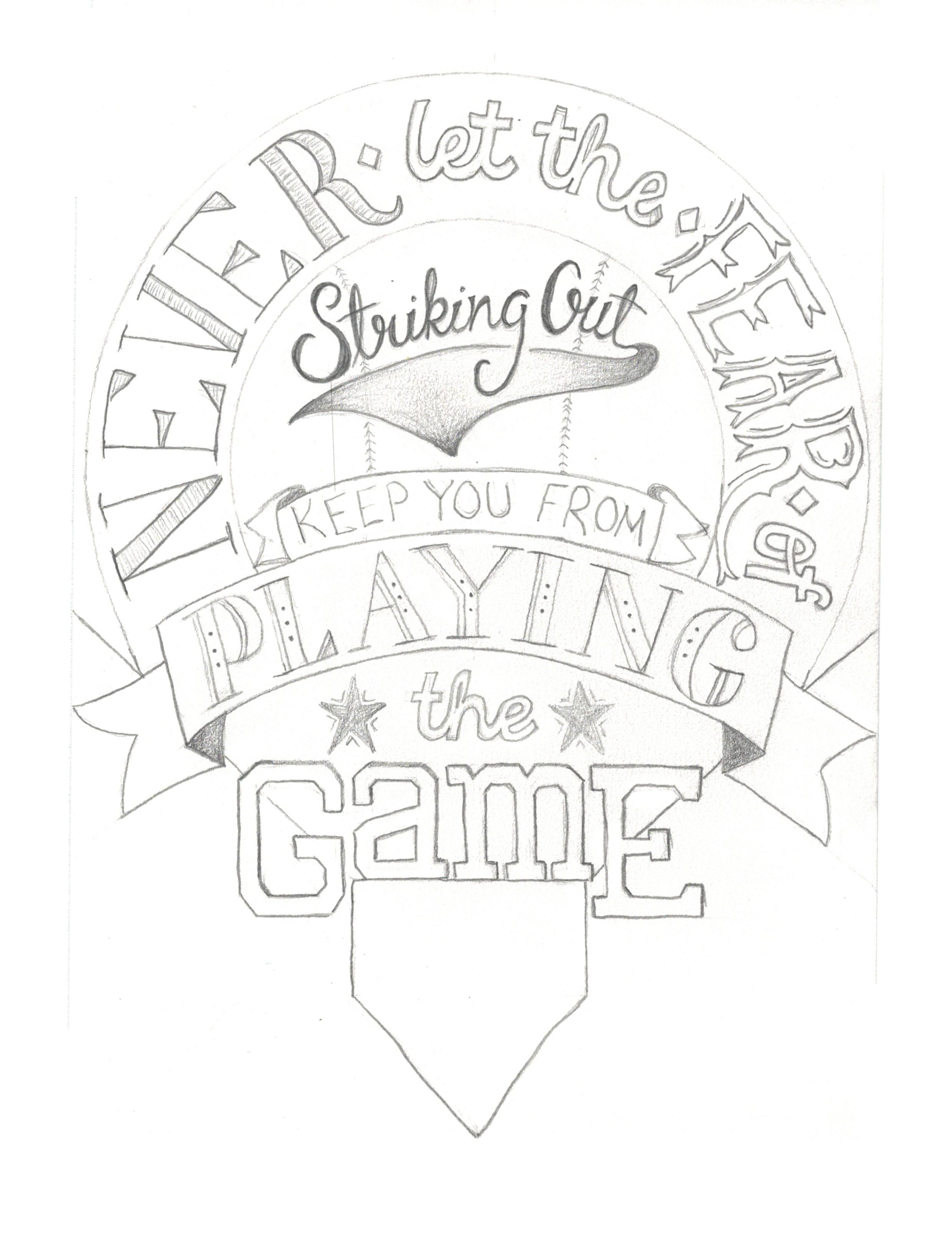 2480x3228 Fun Baseball Themed Illustration By Tania Shaw