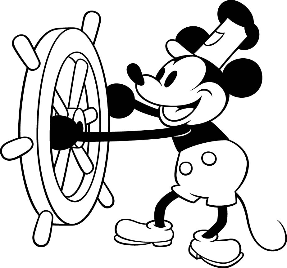 924x864 Steamboat Willie Mickey Mouse Clipart Embroidery Hoops Mickey