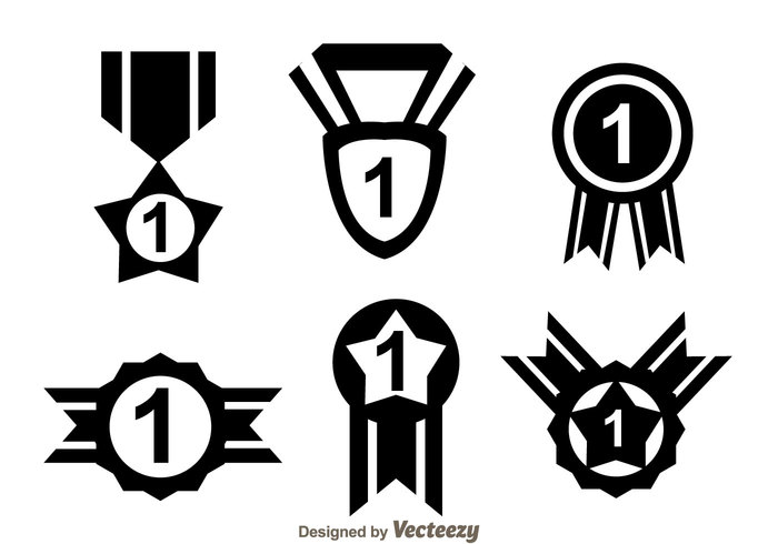 700x490 First Place Ribbon Black Icons 134029