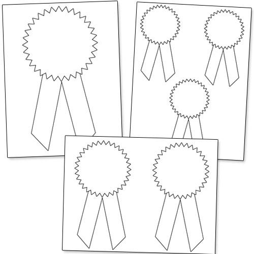 500x500 Printable Award Ribbons Printable