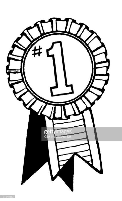 486x800 First Place Ribbon Clipart