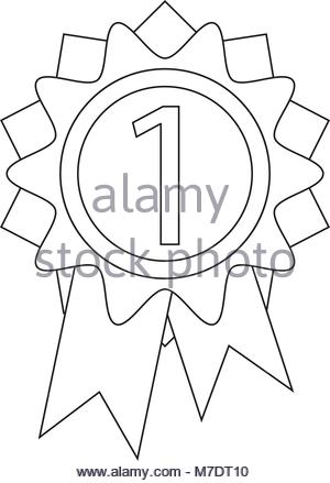 First Place Ribbon Drawing at GetDrawings com | Free for