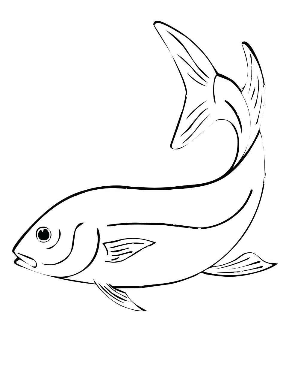 945x1223 Coloring Pages Inspiring Printable Fish Bowl Template Valentine