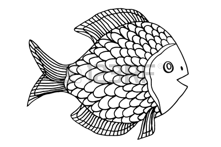450x300 Fish Drawing Stock Photos. Royalty Free Business Images