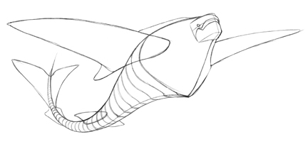 432x203 How To Draw A Flying Fish In 7 Steps