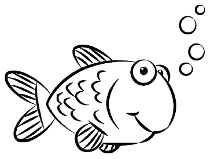 728x550 Fish Color By Number Color By Number Rainbow Fish Printable Fish