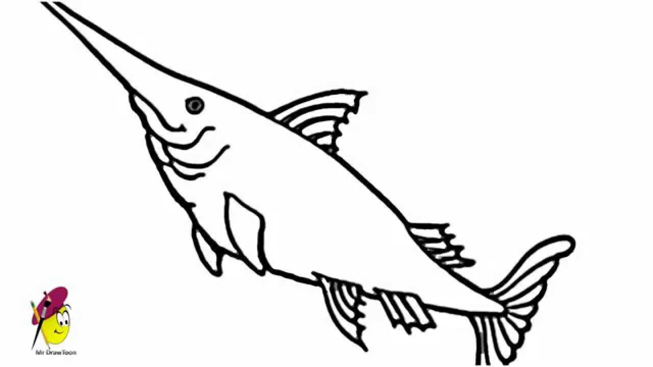 1280x720 Simple Fish Drawing Simple Drawing Of A Fish