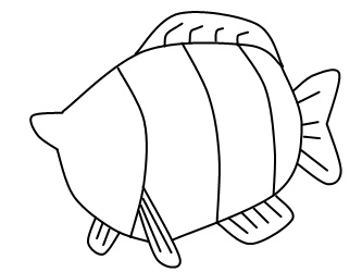 333x250 How To Draw A Fish