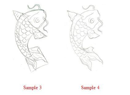 423x308 How To Draw A Koi Fish. Cec32d04c1fed3f322463f5579ab91fajpg 736992