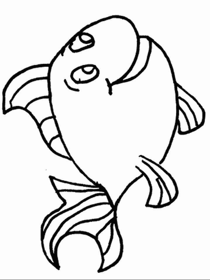 Fish Drawing Template