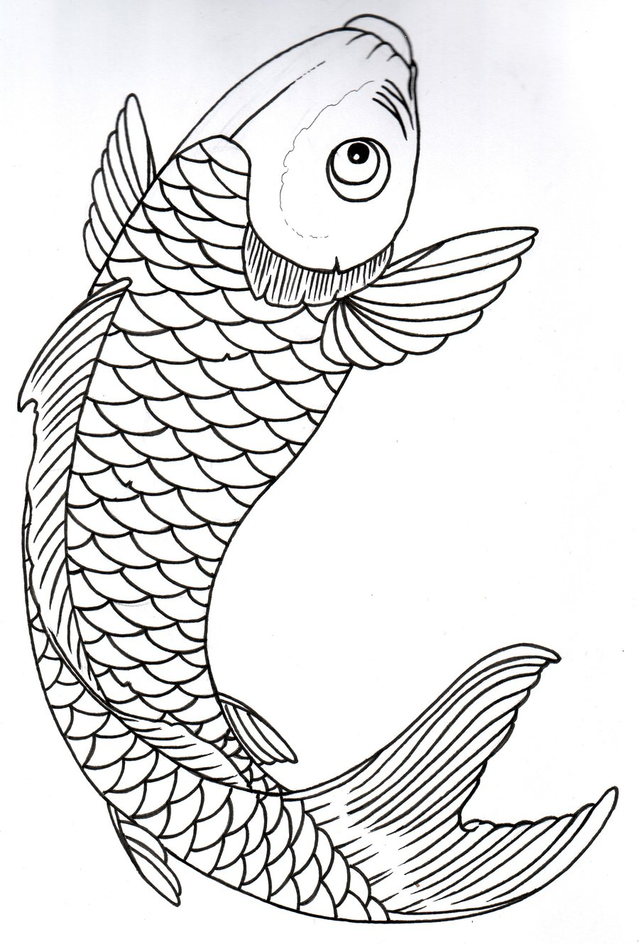 Fish Drawing Template at GetDrawings.com   Free for personal use ...