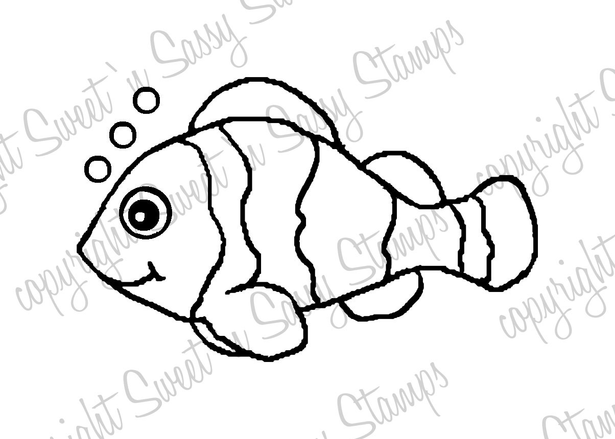 Fish Outline Drawing at GetDrawings.com | Free for personal use Fish ...
