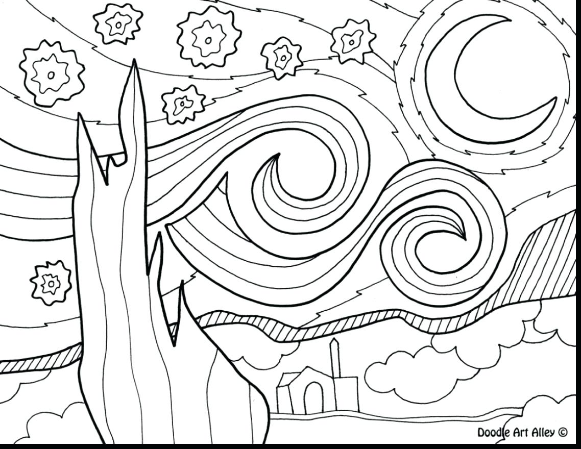 free night coloring pages - photo#35